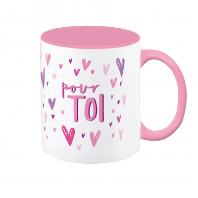 Mug VintageArt « pour toi »