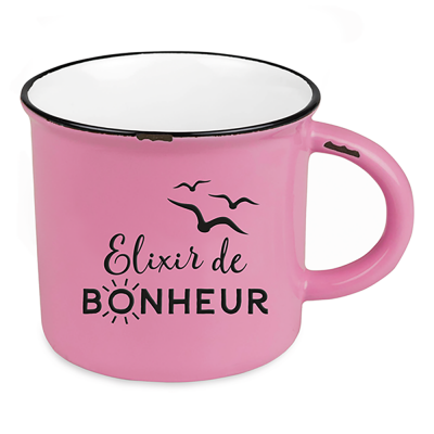 Mug Vintage « Elixir de Bonheur »