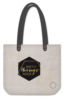 Sac cabas Manufacture International « Pretty things inside »