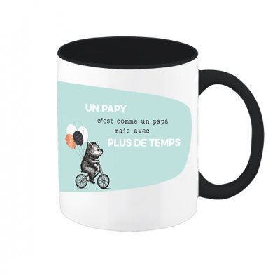 Mug VintageArt « Un papy - plus de temps »